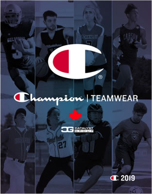 Champion Teamwear Catalogue